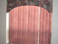 Arched floral cornice