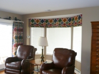 1-piece-angled-bay-roman-shade-valance-with-matching-pleated-drapery-panels