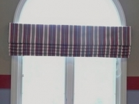 Red, White & Blue Roman Shade Valance