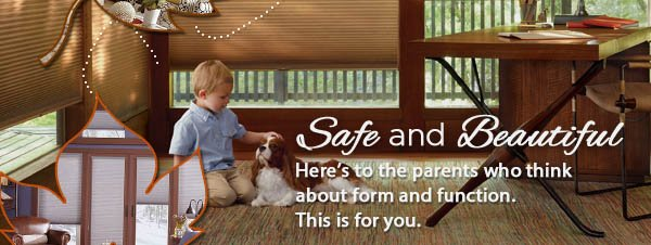 October is Child Safety Month! FREE cordless Upgrades